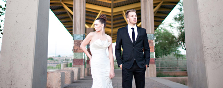 Featured Image | Architectural Wedding :: Featured on STYLE ME PRETTY